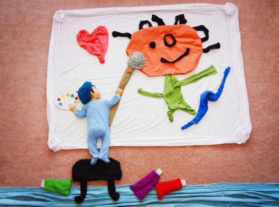 artist-queenie-liao-turns-nap-time-into-adventure-for-baby-son-7