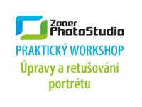 Úpravy a retušování portrétu v Zoner Photo Studio