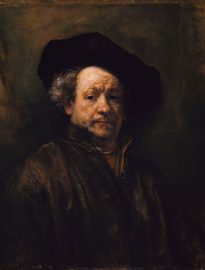 Rembrant Autoportrait